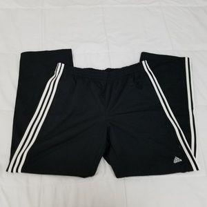 NWOT Adidas Black Casual Pants Mens XL